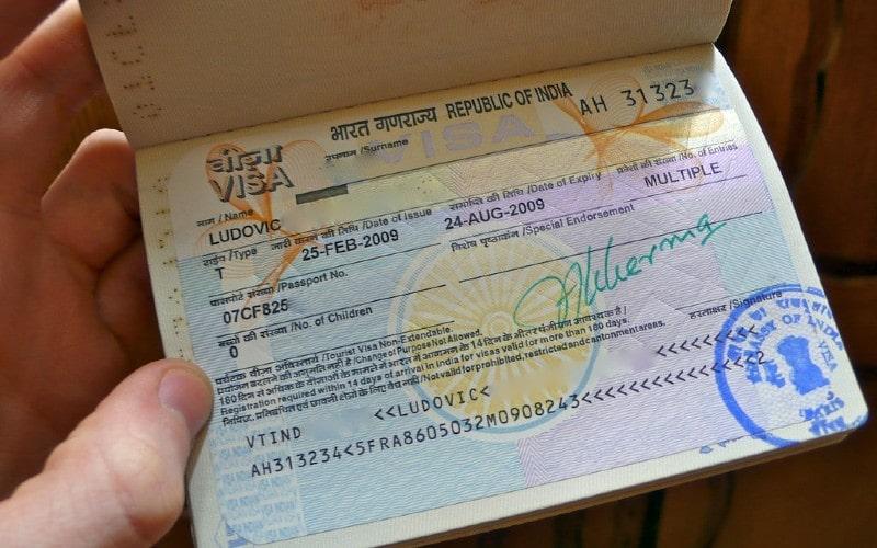 Visado de negocios para viajar a India